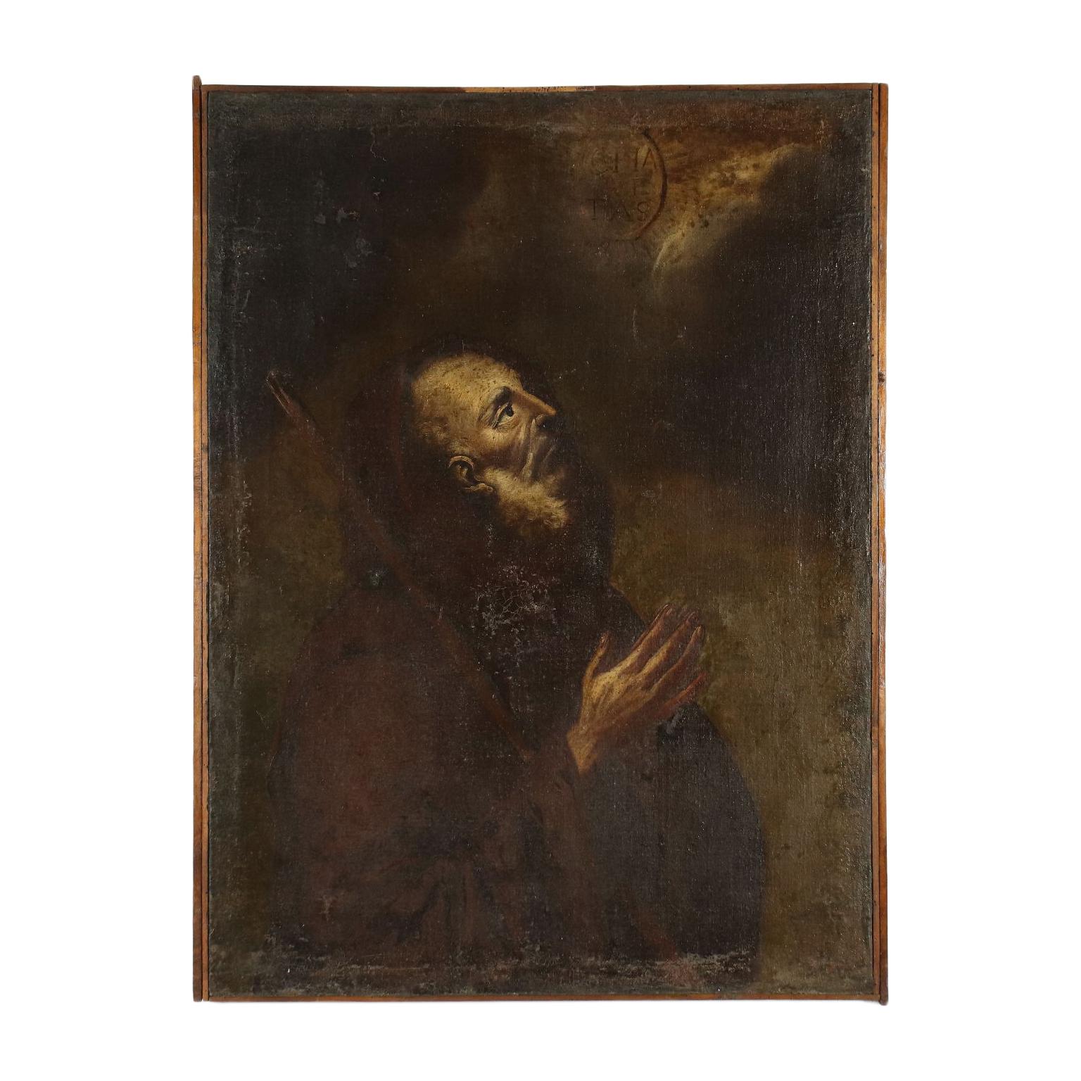 San Francesco Da Paola Pittura Antica Arte Noleggio Dimanoinmano It