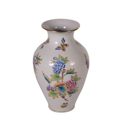 Herend Hungarry Vase Porcelain 20th Century